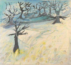 Winter Weeds and the Barren Wind