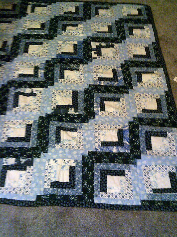 China Blues Quilt