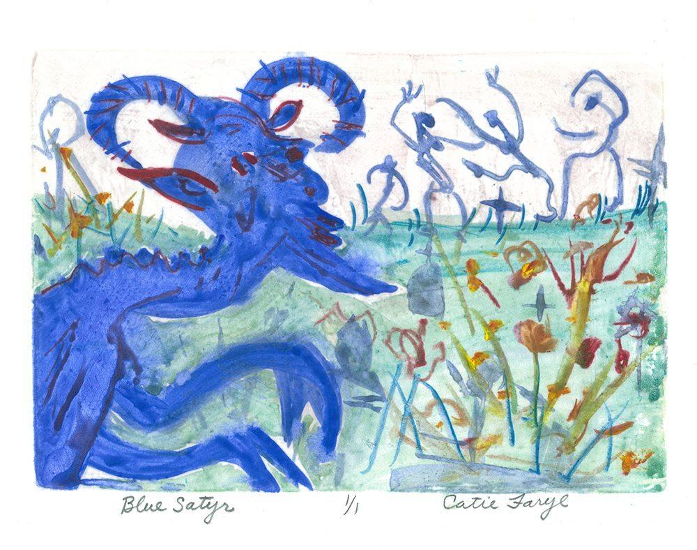 Blue Satyr