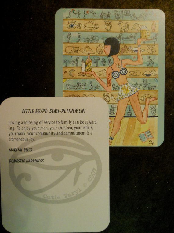 Little Egypt - Semi-Retirement Card