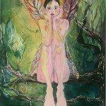 Faye, Watercolor