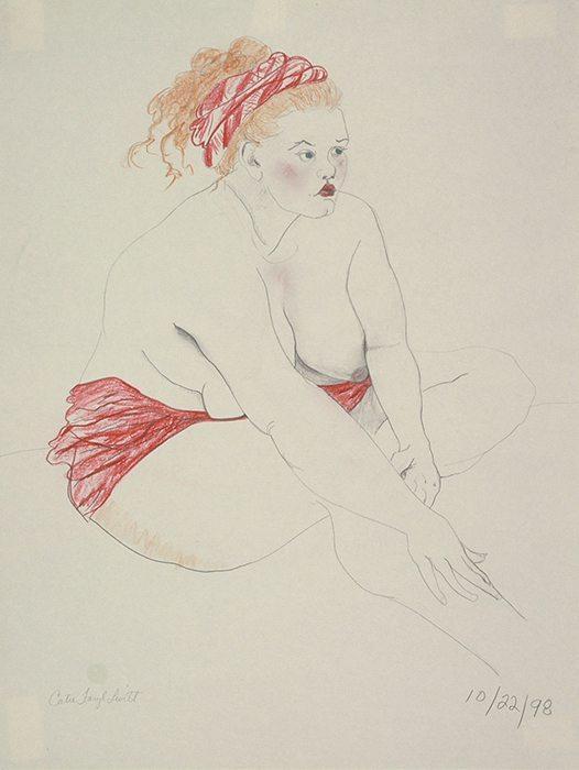 Cabana, Pencil drawing
